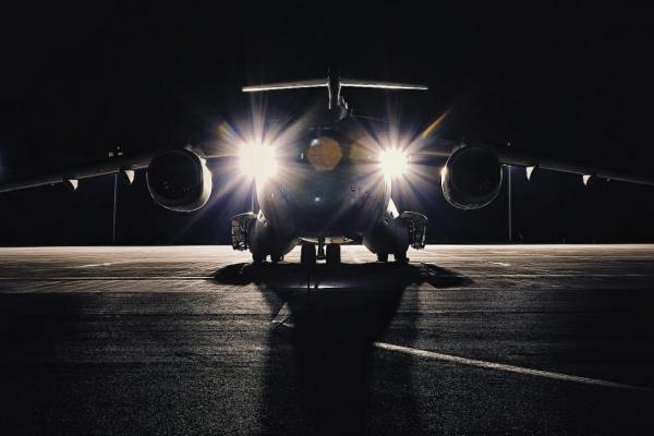 A aeronave decolou da Ala 2 – Base Aérea de Anápolis com a tripulação e militares do Exército, além de carga de apoio ao exercício