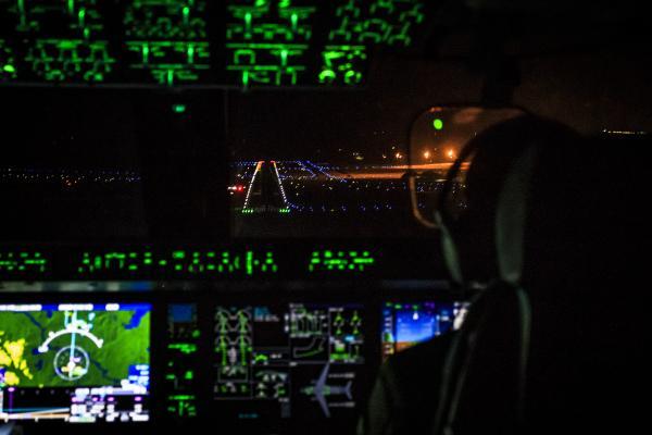 A aeronave chegou à Louisiana, Estados Unidos, para participar pela primeira vez de um Exercício Operacional