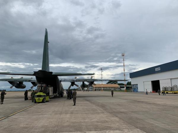 Aeronaves da FAB que atuam nas missões terão a capital do Brasil como centro de distribuição de voos