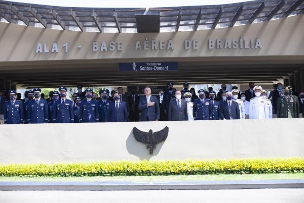 Presidente da República, Jair Bolsonaro, presidiu a solenidade, que foi realizada nesta quarta-feira (20)