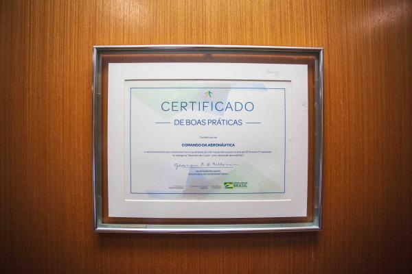 A cerimônia alusiva ao descerramento do Certificado ocorreu nesta quinta-feira (04), em Brasília (DF)