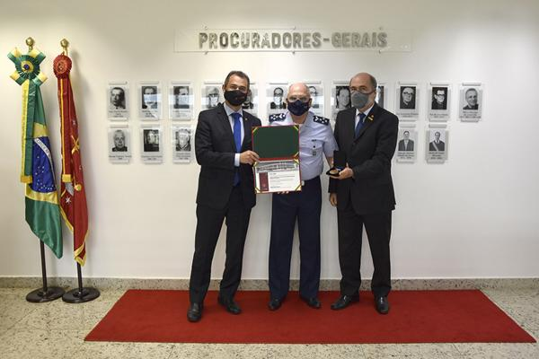 A medalha foi criada pela Associação Nacional do Ministério Público Militar (ANMPM) para as comemorações dos 100 anos do Ministério Público Militar