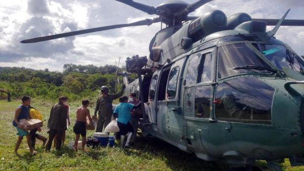 O objetivo dessas missões é viabilizar a assistência de saúde a regiões de difícil acesso, onde apenas aeronaves de asas rotativasconseguem pousar