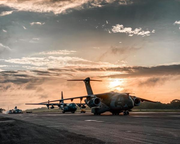 Aeronaves já voaram cerca de duas mil horas em apoio à região Norte, dedicados ao cumprimento de missões de transportar pacientes, oxigênio e insumos