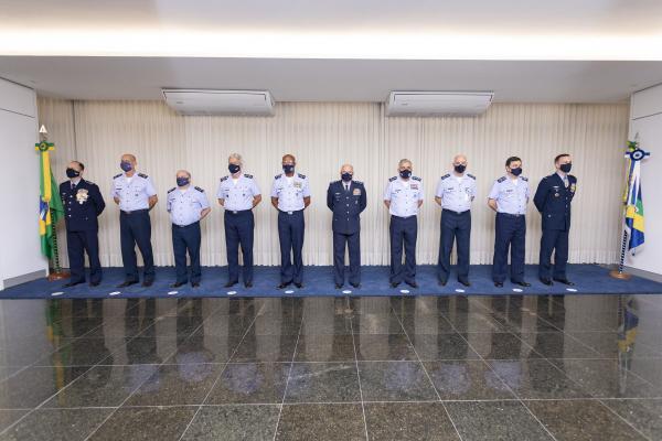 Solenidade aconteceu nesta quarta (3) e contou com a presença do Comandante da Aeronáutica
