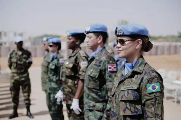 Primeira Oficial do Corpo Feminino da FAB a servir como Staff Officer (Oficial Administrativo) em uma Missão de Paz da ONU recebe novo desafio em 2021