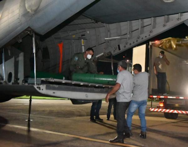 Aeronaves da Força Aérea Brasileira (FAB) prestaram apoio às cidades de Rio Branco (AC) e Laranjal do Jari (AP) entre sexta-feira (12) e domingo (14)