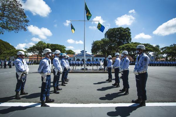 A Escola de Especialistas de Aeronáutica (EEAR) completa 80 anos e lança Pedra Fundamental do Memorial do Especialista, em Guaratinguetá (SP)