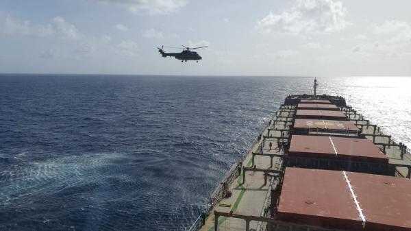 Missão foi realizada pela tripulação do 1º/8º GAV – Esquadrão Falcão, nessa quinta-feira (01)
