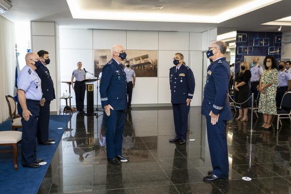 A Vice-Chefia do Estado-Maior da Aeronáutica foi assumida pelo Major-Brigadeiro do Ar Jefson Borges e a Chefia da Sexta Subchefia pelo Major-Brigadeiro do Ar Luiz Ricardo de Souza Nascimento
