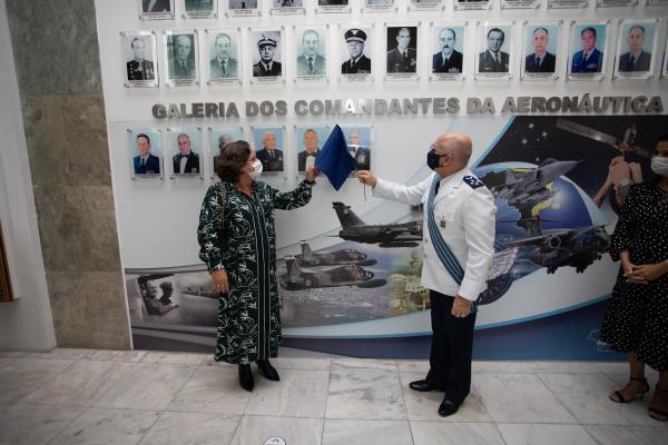 Galeria de Retratos é composta por Ministros e Comandantes da Aeronáutica