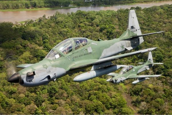 A aeronave foi interceptada no estado do Amazonas e direcionada para realizar pouso obrigatório em Porto Velho (RO)