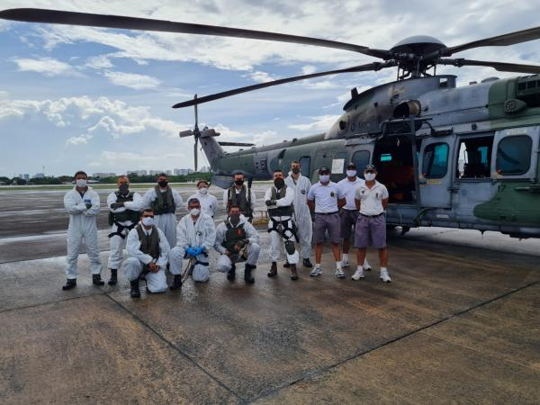 Esquadrão Falcão foi acionado às 4h20 da madrugada do horário de Brasília (DF)