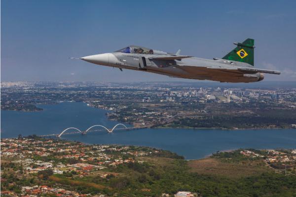 Data é comemorada com expectativas pela chegada do novo vetor multimissão F-39 Gripen