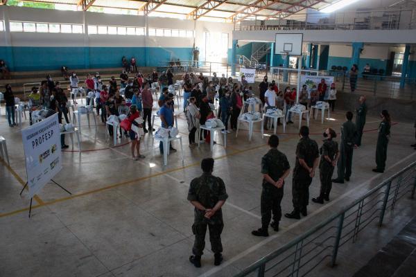 As entregas foram realizadas pela Base Aérea de Campo Grande (BACG) e pelo Grupamento de Apoio do Rio de Janeiro (GAP-RJ)