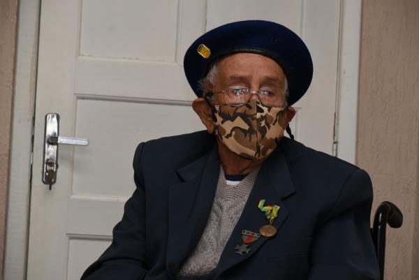 Soldado João Rodrigues é um dos barbacenenses que integraram a Força Expedicionária Brasileira na II Guerra Mundial