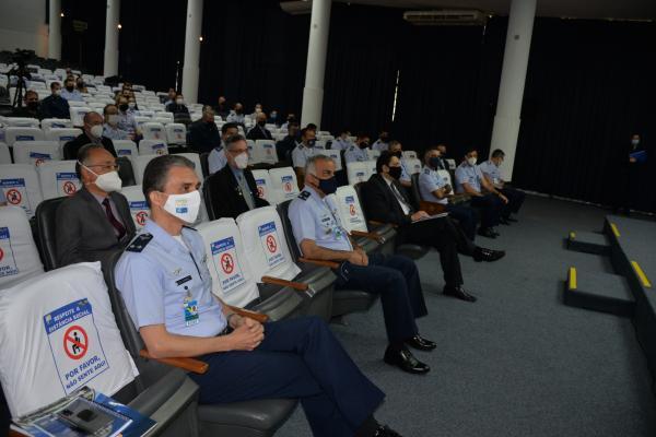 Evento ocorreu no Instituto Tecnológico de Aeronáutica (ITA), de forma presencial, e via Plataforma Webex, remotamente