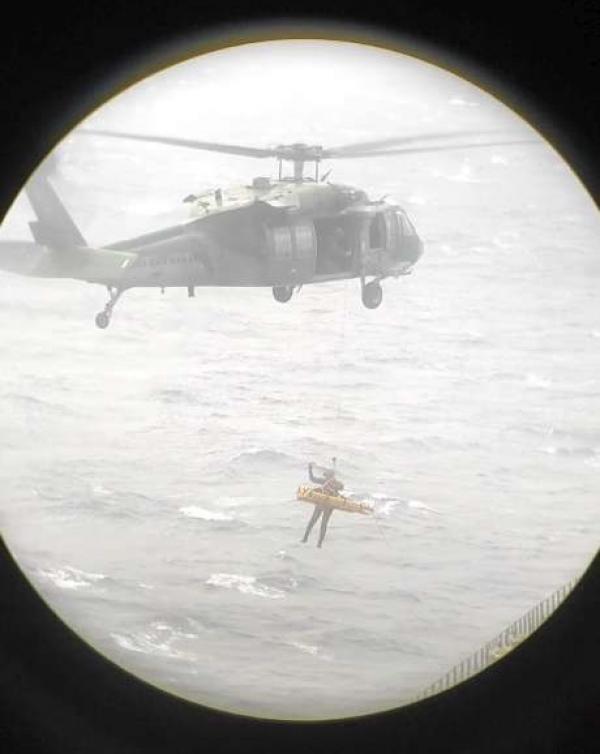 A missão foi cumprida por uma tripulação do Esquadrão Pantera (5°/8° GAV) nesse sábado (22)