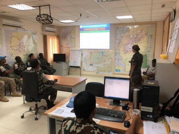 Militares da Força Aérea Brasileira cumprem missões de paz na República Centro-Africana, no Sudão do Sul, na República do Sudão, no Saara Ocidental e na República Democrática do Congo
