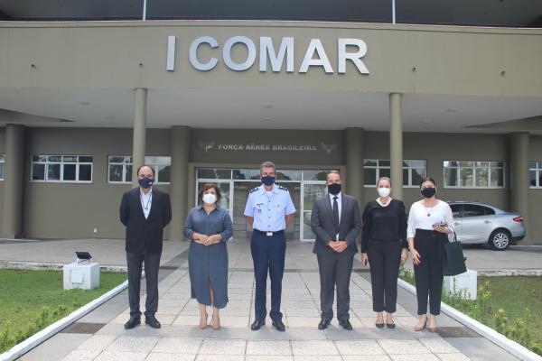 A visita buscou fortalecer as relações de cooperação com o I COMAR e aprofundar assuntos sobre as próximas eleições no estado do Pará e no Amapá