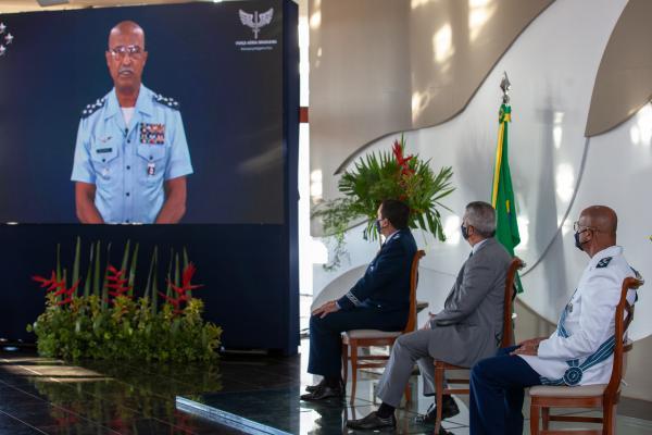Cerimônia Militar ocorreu em Brasília (DF), nesta terça-feira (1º)