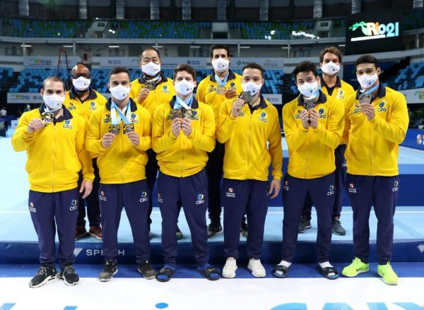 Com a primeira colocação, a equipe garantiu mais uma vaga nos Jogos Olímpicos 2021