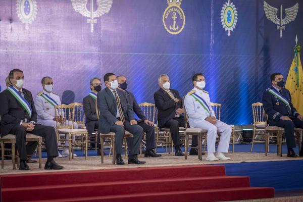 Militares, personalidades e Organizações Militares das Forças Armadas foram agraciadas com a Ordem do Mérito da Defesa, durante o evento