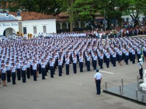Assista ao vídeo da formatura dos novos sargentos na Escola de Especialistas de Aeronáutica