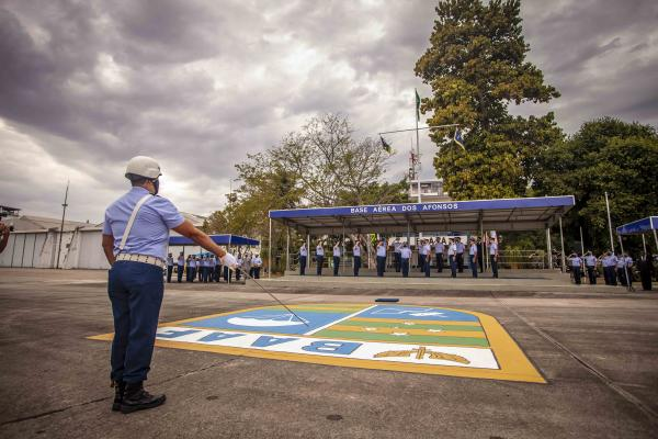 Solenidade ocorreu na Base Aérea dos Afonsos, no Rio de Janeiro (RJ), nesta sexta-feira (11)