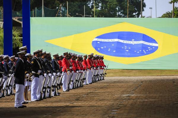 Cerimônia homenageou os 156 anos da Batalha Naval do Riachuelo