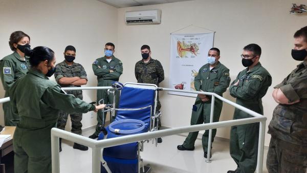 Curso buscou preparar militares para as patologias decorrentes da atividade aeroespacial