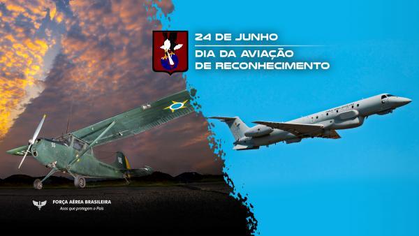Vídeo celebra o Dia da Aviação de Reconhecimento, comemorado no dia 24 de junho