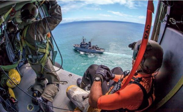 A missão é localizar e socorrer ocupantes de aeronaves e embarcações em situações de perigo