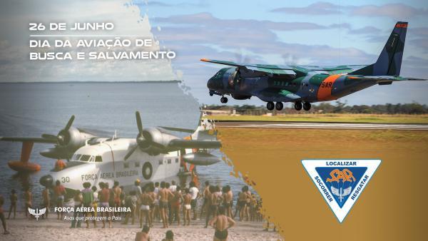 Vídeo celebra o Dia da Aviação de Busca e Salvamento, comemorado no dia 26 de junho