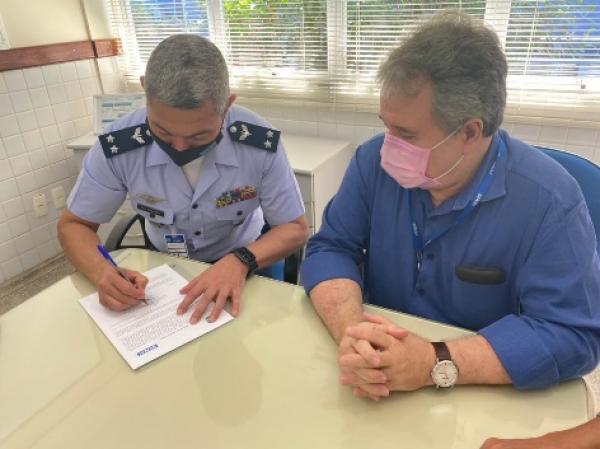 Por meio da parceria, militares da Aeronáutica receberão instrução profissionalizante