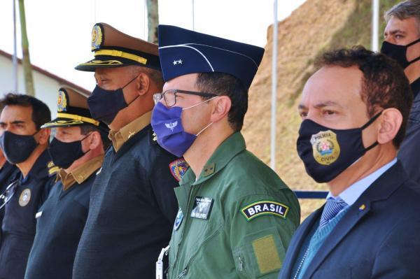 A homenagem ocorreu durante a Parada Diária do Corpo de Alunos (CA) da EPCAR, no dia 7 de julho econtou com a presença do Comandante da EPCAR, Brigadeiro do ArPaulo Ricardo da Silva Mendes