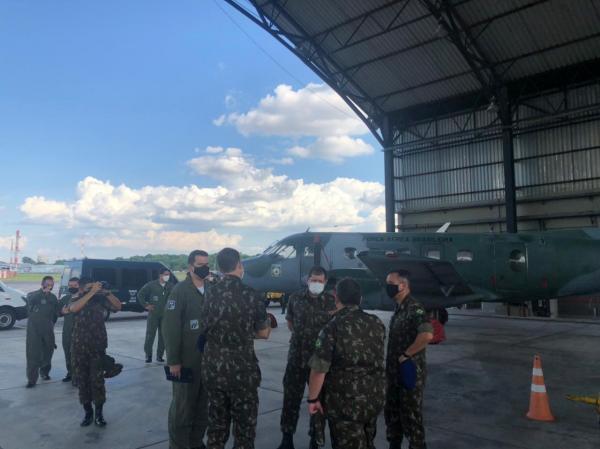A visita objetivou dar continuidade ao estudo de implantação de uma fração da Aviação do Exército na Organização Militar da FAB