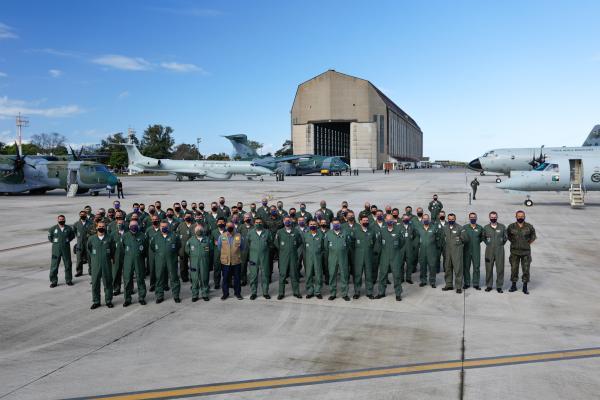 Evento, realizado no Rio de Janeiro (RJ), contou com a presença do Ministro da Defesa, Walter Souza Braga Netto, e comitiva