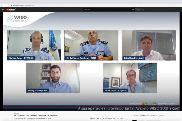 A atividade, realizada de 2 a 4 de agosto,buscoua troca de experiências e de informações, visando a eficiência e a integração das operações aeroportuárias e de navegação aérea do Rio de Janeiro