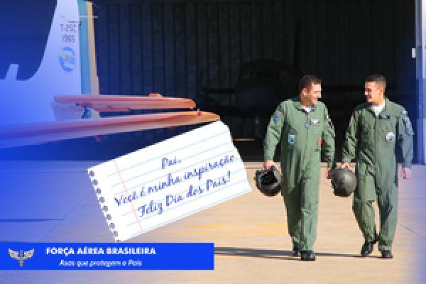Confira o vídeo da Força Aérea Brasileira em homenagem aos pais