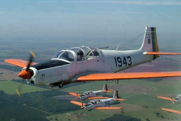 Aeronave é utilizada para as instruções primárias dos Cadetes Aviadores