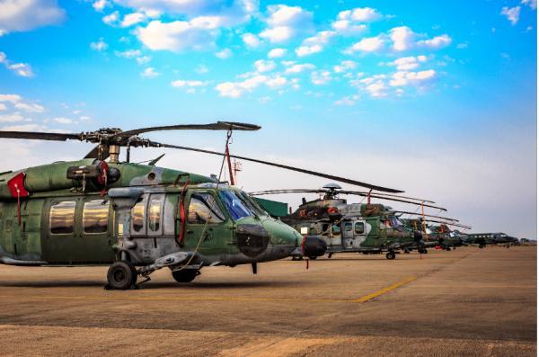 Cerca de 30 aeronaves e 16 Unidades Aéreas e de Infantaria participam de atividades que treinam possível participação da FAB em missões de paz da ONU