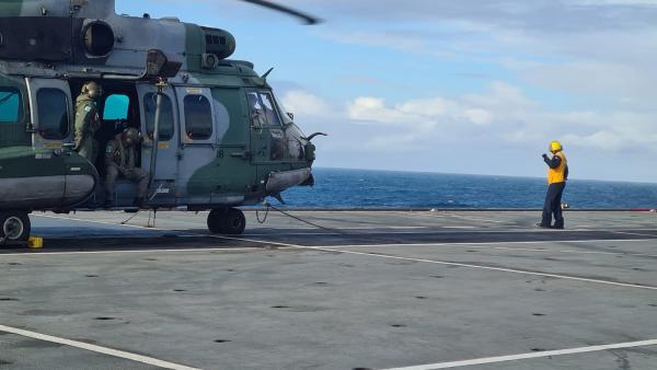 Operação Poseidon 2021, coordenada pelo Ministério da Defesa, ocorre no Rio de Janeiro até o próximo sábado (4)