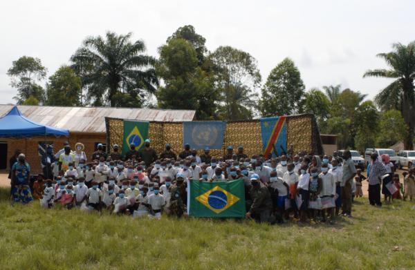 Militares brasileiros que atuam na Missão das Nações Unidas para a estabilização da República Democrática do Congo (MONUSCO)
