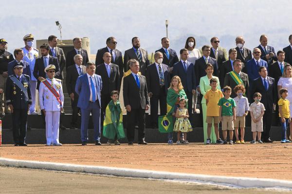 Solenidade ocorreu na manhã desta terça-feira (07/09), no Palácio da Alvorada, em Brasília (DF)