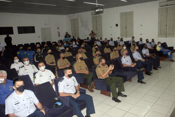 O evento contou com a participação das equipes masculinas e femininas da Marinha do Brasil, do Exército Brasileiro e da Força Aérea Brasileira