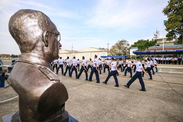 O evento aconteceu nessa segunda-feira (20), na Base Aérea dos Afonsos, no Rio de Janeiro (RJ)