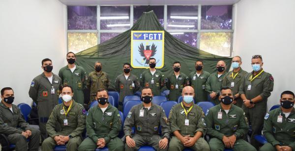 Militares da Força Aérea Brasileira (FAB) e da Força Aérea Portuguesa (FAP) participam de capacitação, em Anápolis (GO), de 14 de setembro a 5 de outubro