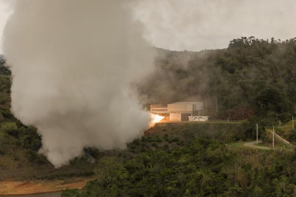 Teste aconteceu na área operacional da Usina Coronel Abner (UCA), em São José dos Campos (SP)