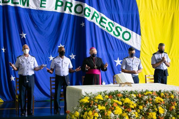 Comandante da Aeronáutica participou do evento, que aconteceu na Ala 1, em Brasília (DF)